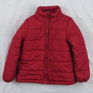 Joe Fresh Red Puffer Jacket Sz 2T